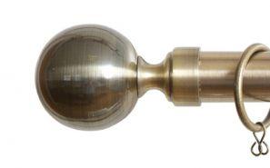 28mm Vista Antique Brass Rod Set 240cm
