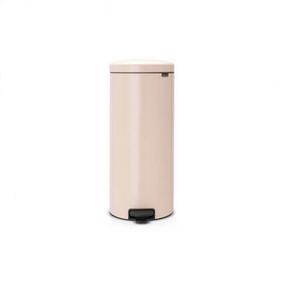 Brabantia Newicon 30-Litre Pedal Bin Soft Closing - Clay Pink