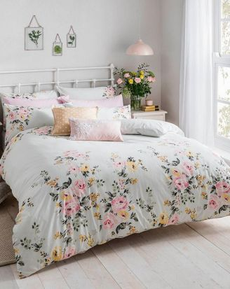Cath Kidston Vintage Bunch Duvet Cover Set - Double