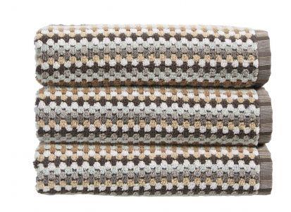 Christy Carnaby Stripe Hand Towel - Neutral