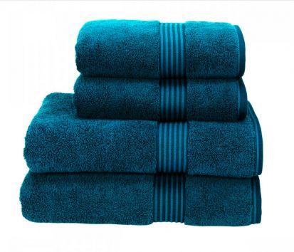 Christy Supreme Hygro Hand Towel - Kingfisher