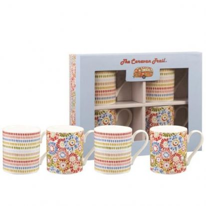 Churchill Harbour Sands Pacific 4 Piece Mug Set