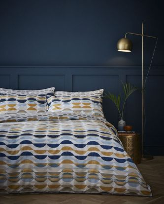 Content by Conran Eclipse Ochre Duvet Cover Set - Superking