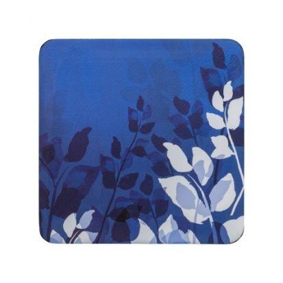 Denby Foliage Blue Set of 6 Coasters