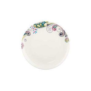 Denby Monsoon Cosmic Cream Salad Plate