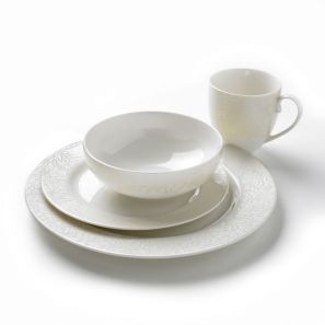 Denby Monsoon Lucille Gold 16pce Box Set