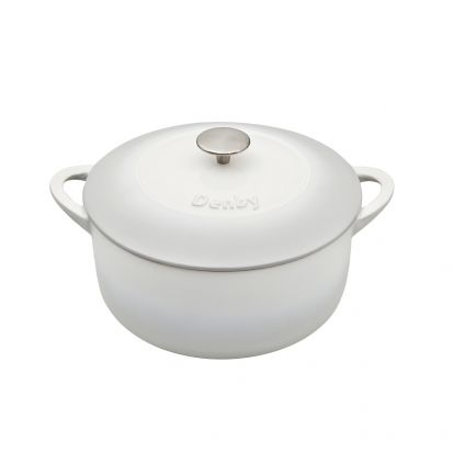 Denby Natural Canvas Cast Iron 26cm Round Casserole