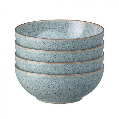 Denby Studio Grey Set of 4 Cereal Bowls