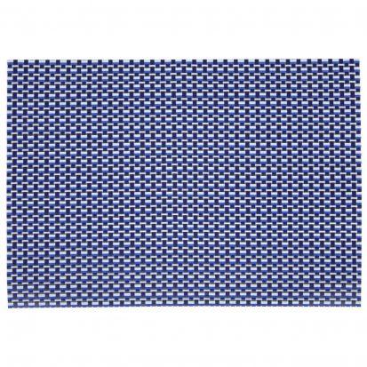 Denby Woven Vinyl Rectangular Placemat Imperial Blue