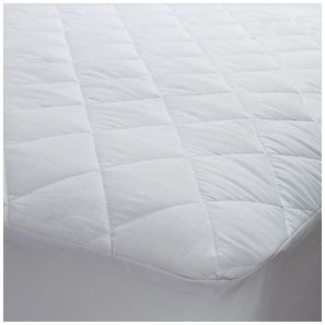 Elainer 100% Cotton Quilted Four Foot Mattress Protector