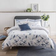 Cath Kidston British Birds Blue Duvet Cover Set - Superking