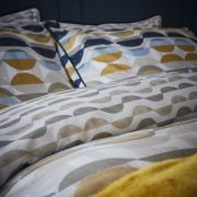 Content by Conran Eclipse Ochre Duvet Cover Set - King 3