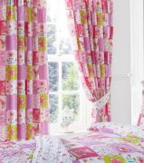 Kids Club Patchwork Readymade Curtains 66