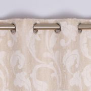 Rochelle Eyelet Curtains Champagne 90