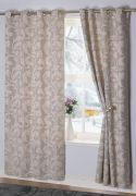 Rochelle Eyelet Curtains Duck Egg 90