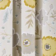 Sanderson Wind Poppies Linen/Ochre Curtains